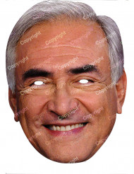 Maske Dominique Strauss Kahn pap