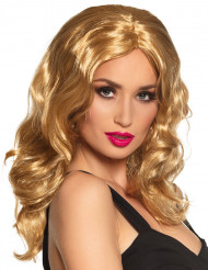 Paryk blond lang