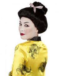 Paryk geisha sort til kvinder