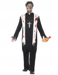 Præstezombiekostume voksen Halloween