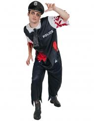 Kostume zombie politi til mænd