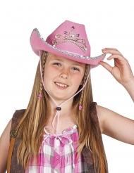 Gowgirlhat lyserød børn