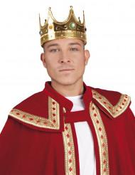 Guld kongekrone til voksne