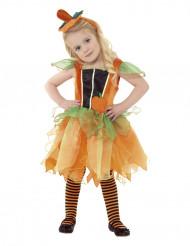 Græskar kostume til piger Halloween