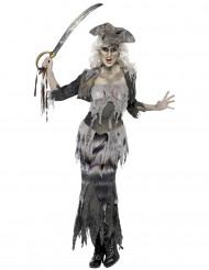 Kostume spøgelsespirat voksen halloween