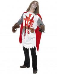 Kostume zombie ridder til voksne Halloween