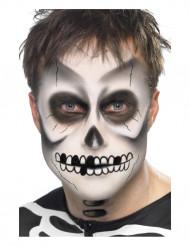 Sminkesæt skelet Halloween