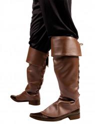 Overtræksstøvler brune til voksne