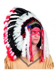 Indianer fjerprydet hovedbeklædning voksen