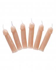 6 stearinlys penis