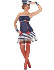 Sømand sexet kvinde kostume