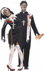 Parkostume religiøs zombie Halloween
