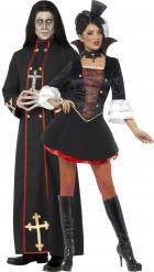 Parkostume munk og vampyr Halloween