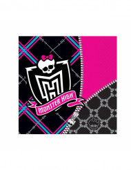 20 papirservietter 33 x 33 cm - Monster High™