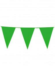 Guirlande faner grøn