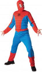 Udklædningsdragt Spiderman™ voksen med maske