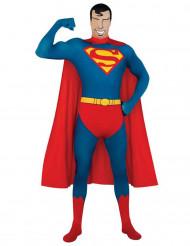 Udklædningsdragt second skin Superman™ voksen