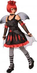 Kostume gotisk prinsesse flagermus til børn
