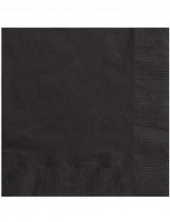 20 sorte papirservietter 33 x 33 cm