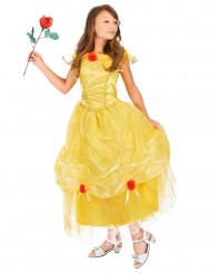gul og rød prinsessekostume til piger