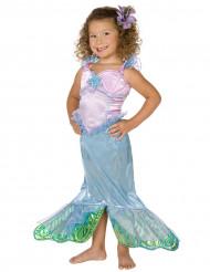 Havets drøm - Pastel havfruekostume til piger