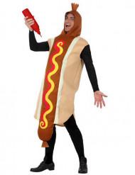 Kostume hotdog voksen