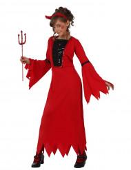 Hun-djævel kostume børn Halloween