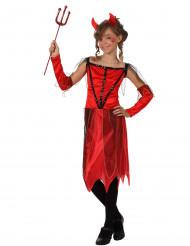 Hun-djævel dragt piger Halloween