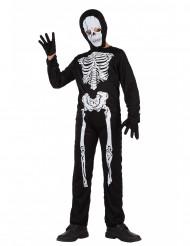 Skeletdragt Halloween børn