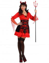 Djævle-kostume kvinde Halloween