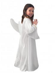 Kostume engel hvid til børn