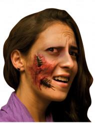 Falsk sår med insekt voksen Halloween