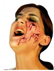Falske sår i ansigtet