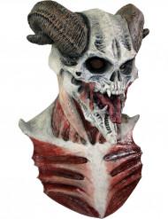 Djævelsk skeletmaske Halloween