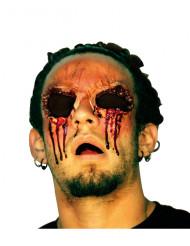 Falsk sår udstukne øjne voksen Halloween