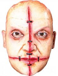 Zombiemaske med ar og nitter
