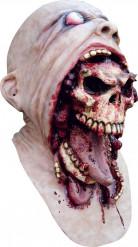 Blodig dødningehovedmaske voksen Halloween