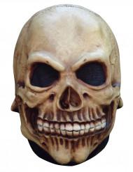 Dødningehoved maske størrelse ung Halloween
