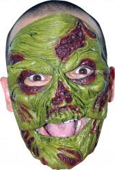 Zombiemaske grøn voksen Halloween