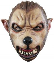 Varulv maske voksen Halloween