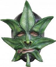 Cannabisblad Maske Voksen