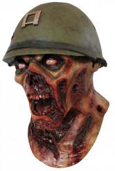Zombie Soldat Maske Voksen Halloween