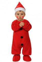 Kostume Julemanden til babyer