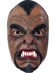 Skræmmende varulv maske til voksne