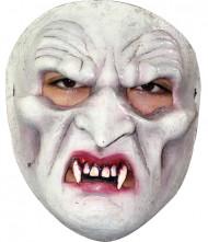 Vampyr maske med tænder til voksne