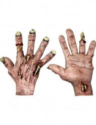 Zombiehænder med huller til voksne