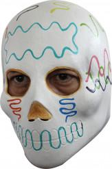 Mexikansk Dia de los muertos Maske
