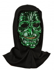Monster maske gul og grøn voksen