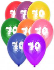Balloner med 70 tal