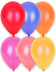24 balloner i forskellige farver 25 cm
